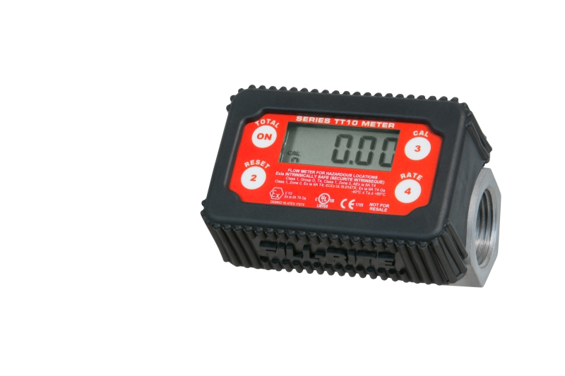 TT10-AB In-Line Digital Turbine Fuel Meter