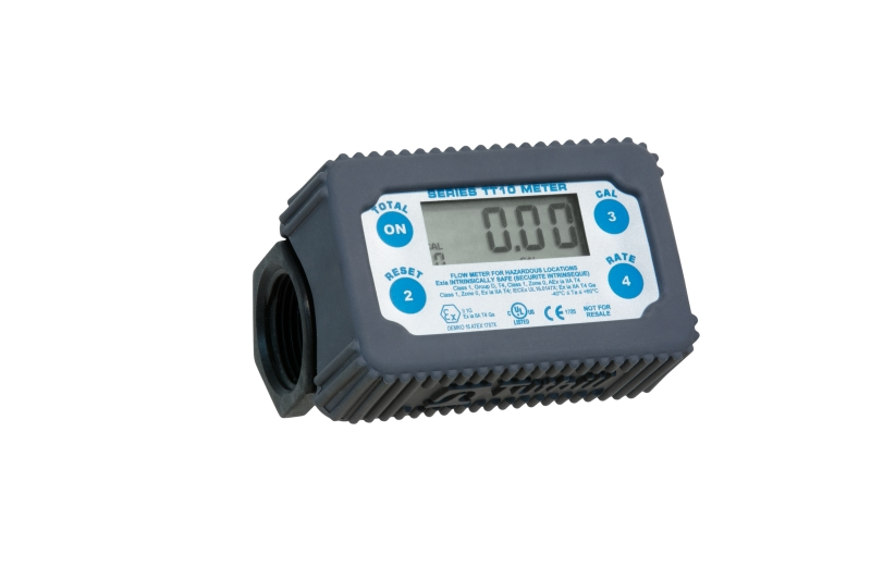 TT10-PB In-Line Digital Turbine AdBlue and De-Icer Meter